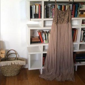 Mauve Tool Bridesmaid Dress or Formal Dress